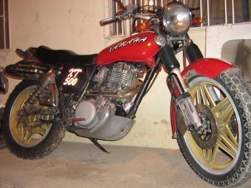Fotos de Moto yamaha xt 500 4