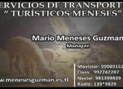 SERVICIOS DE TRANSPORTES TURISTICOS MENESES