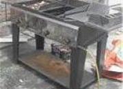 Vendo: asador de carnes, parrilla freidora y fritador a gas y accesorios