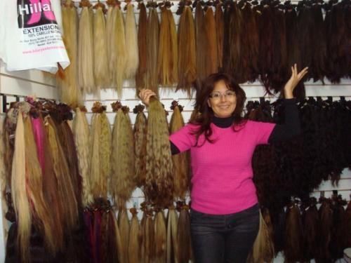 Fabrica de extensiones de cabello de cabello 100%natural
