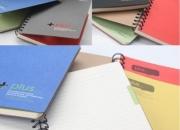 Cuadernos doble ó - personalizados - corporativos