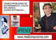TIENES PROBLEMAS DE SALUD? APRENDE MEDICINA Y COCINA