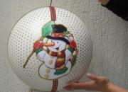 Bolas navideñas gigantes