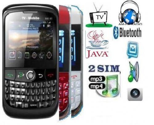 Black mini berry doble sim,mp3, mp4, tv, camara $198.900
