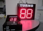 Turnero electronico con voz-sistema electronico de gestion de turnos y pedidos
