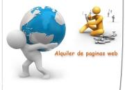 Diseño de paginas web personalizados, video y catalogos virtuales, alquiler de paginas web, sitios web, diseño de logotipo, sitio web tienda en linea, diseño o alquiler de su pagina web, economicas pa