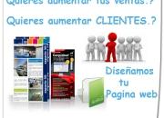 Diseño y alquiler de paginas web muy economicas, publicidad virtual, sitios web, diseño de logotipos,video catalogos, tienda en linea, page web empresarial.