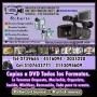 FILMACIONES, FOTOGRAFIA, COPIAS A DVD, EDICIONES.