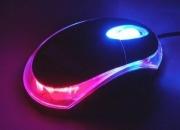 Mouse optico  con luses $19.500