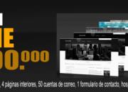 Diseño de páginas web en colombia desde $500.000.