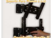 Instalacion inmediata  de soporte lcd o plasma domicilio gratis 2304583