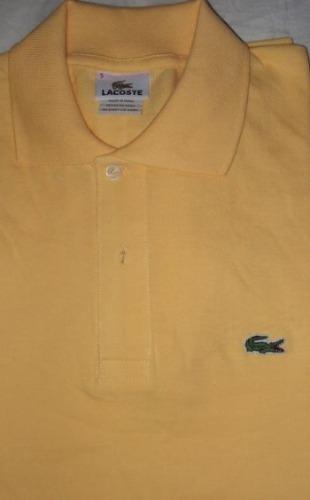 Camisetas lacoste tipo polo - original