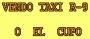 Vendo taxi o el cupo en Santa Marta R-9 Mod 1996 Cel: 3116609914  3168346888