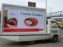 alquiler de vallas,valla humana,publicidad,entrega de volantes,sonido