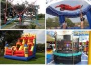 saltarines inflables,bungy trampolin, cauchera humana, tunel de viento, dummies publicitarios, brincos, inflables, jumping, simulador de paracaidismo, bungee,