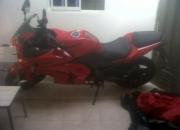 Vendo moto ninjakawasaki250 cc