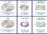 CD DVD MINICD DUPLICADO E IMPRESIÓN DIRECTA