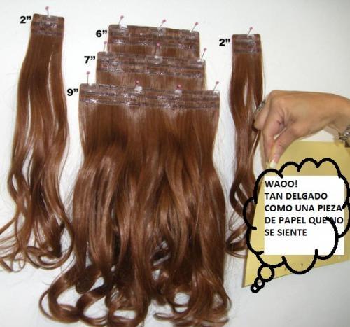 Extensiones de cabello 100% natural: