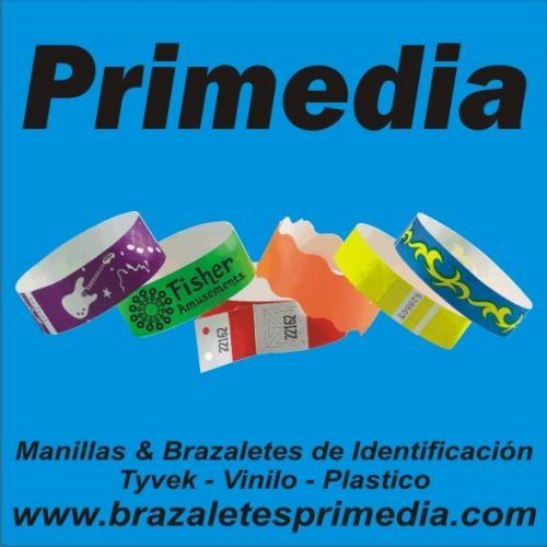 99dac6124edf Primedia  brazaletes   manillas   pulseras de seguridad para control de  ingreso a eventos