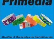 PRIMEDIA: Brazaletes / Manillas / Pulseras de seguridad para control de ingreso a eventos, entradas y cover. Tyvek / Vinilo / Plástico. oficina@brazaletesprimedia.com www.brazaletesprimedia.com
