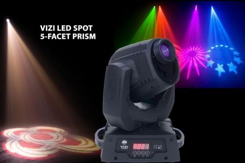 Vendo cabeza movil nueva vizi led spot incluye dmx vendo iluminacion profesional cabeza movil nueva barata