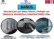 ¡INSTALACIÓN DE BAÑOS!
