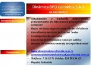 Servicios de Contact Center, Investigación de Mercados, Digitación y Encuestas