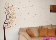 Autoadhesivos para pared, vinilo decorativo monarca.
