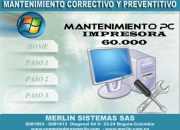 MANTENIMIENTO COMPUTADORES BOGOTA
