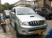Toyota hilux dc disel 2.5, 4x4 full equipo color verde $55?000.000