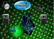 Sonido, luces y Dj Animador