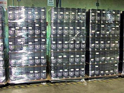 Contenedores de computadoras usadas desde miami, florida-usa