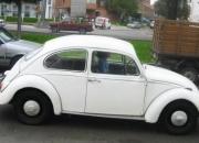 Volkswagen escarabajo beetle modelo 66 blanco