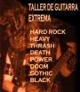 Clases de guitarra eléctrica: Rock y Metal