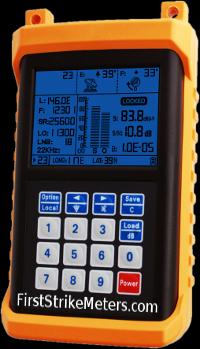 Satellite finder digital - first strike meter