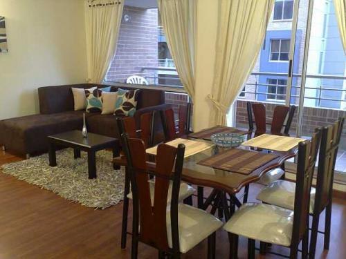 Apartamento amoblado en bogota. furnished apartment bogota