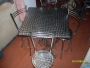 Vendo mesas y sillas en aluminio