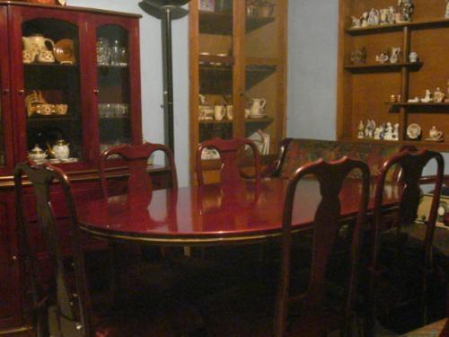Comedor 6 puestos-mesa ovalada