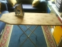 Plancha y mesa