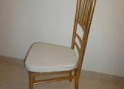 venta de sillas tiffany  valor $78.000 iva incluido