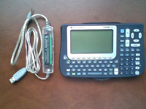 Vendo calculadora texas instruments voyage 200