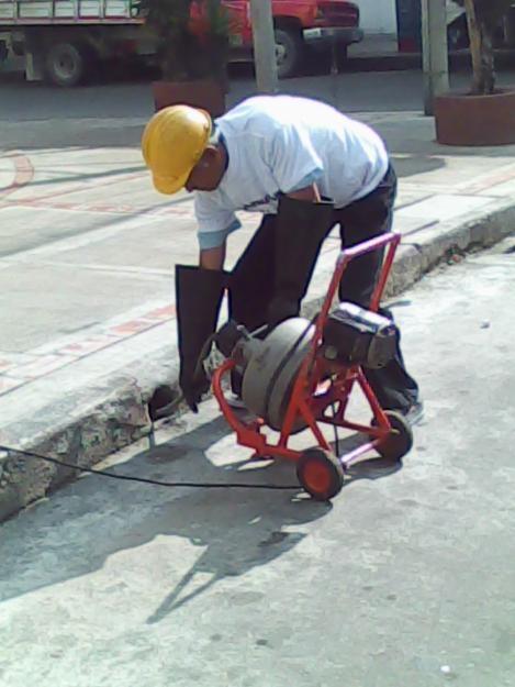 Destapamos cañerias, plomeros bogota, servicio tecnico de plomeria