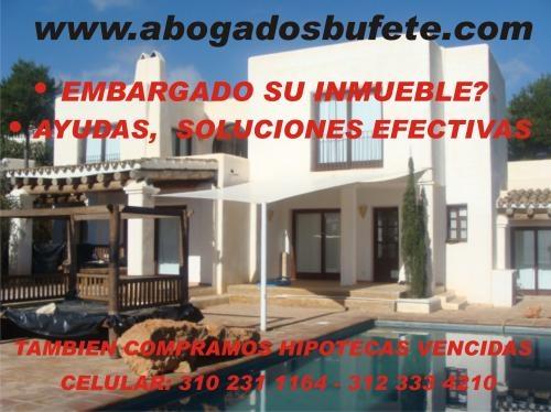 Atencion compro hipotecas en mora !!!