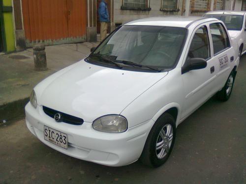 Vendo taxi blanco servicios especiales con operacion nacional, chevrolet corsa diesel, motor 1700cc, taxi power,