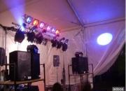 Alquiler de luces camara de humo para eventos