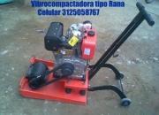 vibrocompactadora tipo rana,cortadora de piso y mezcladoras