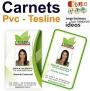 carnets Teslin y PVC