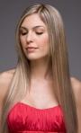 Extensiones de cabello en Bogotá 100% natural cortina punto a punto