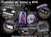 VIDEOS ANTIGUOS LOS COPIAMOS A DVD TRANSFER-FILMACIONES-FOTOGRAFIA