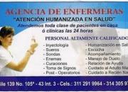 AGENCIA ENFERMERAS ATENCION HUMANIZADA EN SALUD